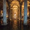 Inside the Yerebatan Cistern, Istanbul
