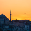 Sunset Flight, Istanbul, Turkey