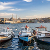 Three Boats on the Golden Horn, Istanbul