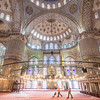 Keeping the Blue Mosque Clean, Istanbul