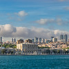 Dolmabahçe Palace and Distant High Rises, Istanbul