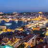 Night over the Golden Horn, Istanbul, Turkey