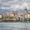 Galata and the Golden Horn, Istanbul, Turkey