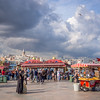 Crowds and Clouds Gather over Eminönü, Istanbul