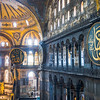 Upper Galleries of the Hagia Sophia, Istanbul