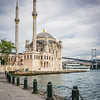 Ortaköy Mosque and the Bosporus Bridge, Istanbul
