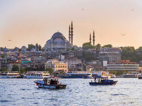 Fatih Mosque and the Golden Horn, Istanbul