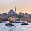 Fatih Mosque and the Golden Horn, Istanbul, Turkey
