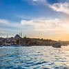 Sun Setting over the Golden Horn, Istanbul