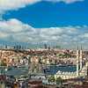 Rooftop View across the Golden Horn to Beyoğlu, Istanbul
