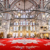 Main Hall of Fatih Mosque, Istanbul