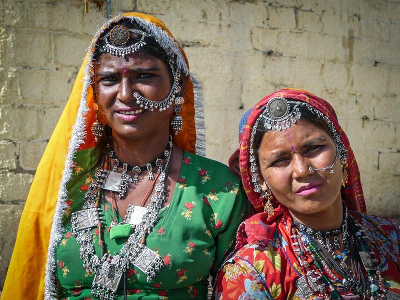 Rajasthani Women, Jaisalmer
