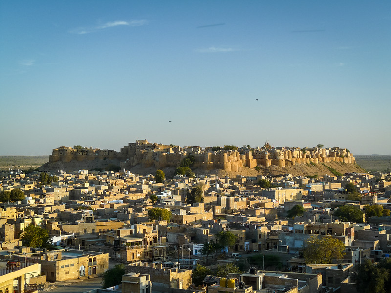 Jaisalmer in Blue