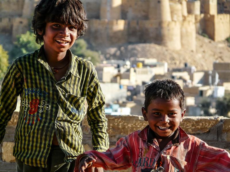 Two Local Boys, Jaisalmer