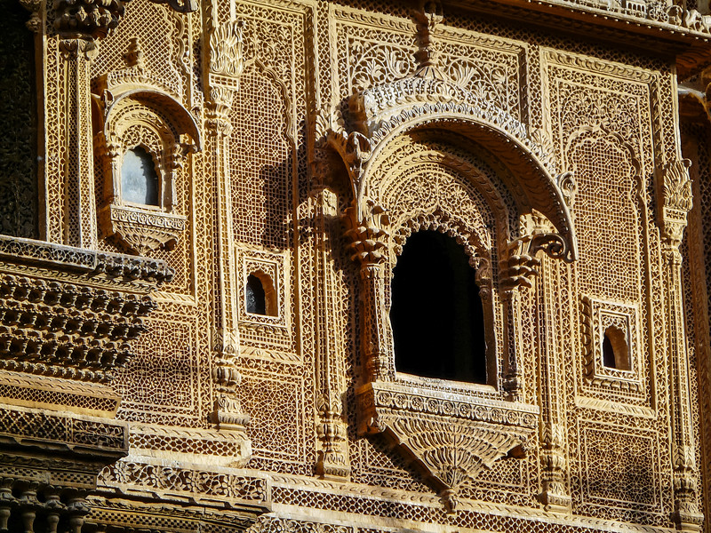 Haveli Windows, Jaisalmer, India