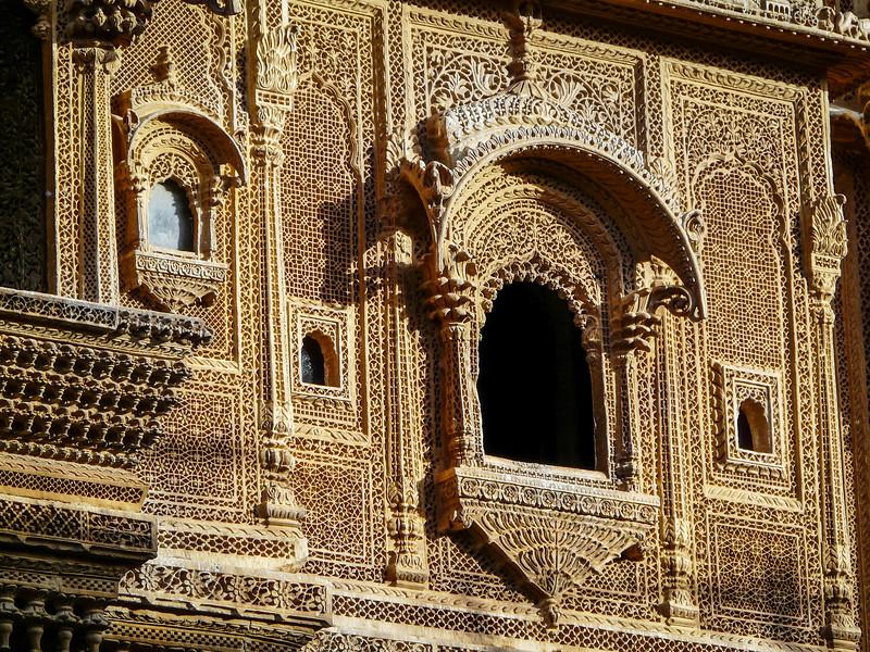Haveli Windows, Jaisalmer, India