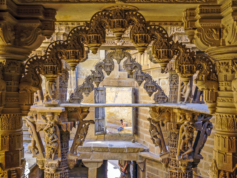 Delicate Archway Carvings, Jain Temple, Jaisalmer
