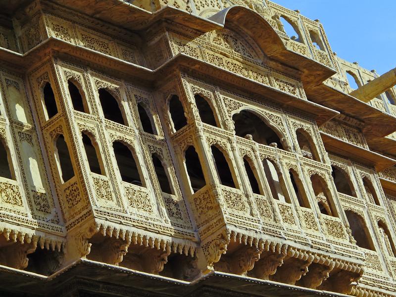 Grand Haveli Balcony, Jaisalmer