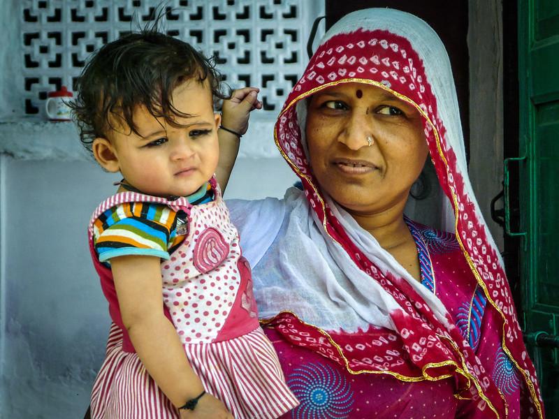 Mother and Child, Jodhpur