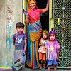Happy Holi from Woman and Kids, Jodhpur