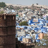 Fortress Tower and Blue City, Jodhpur