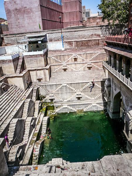High-Dive Into Tank, Jodhpur