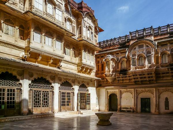 Woman's Courtyard, Mehrangarh, Jodhpur
