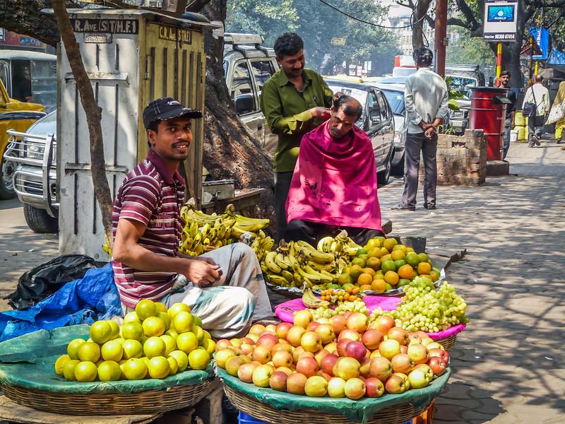 Fruit and a Haircut, Kolkata