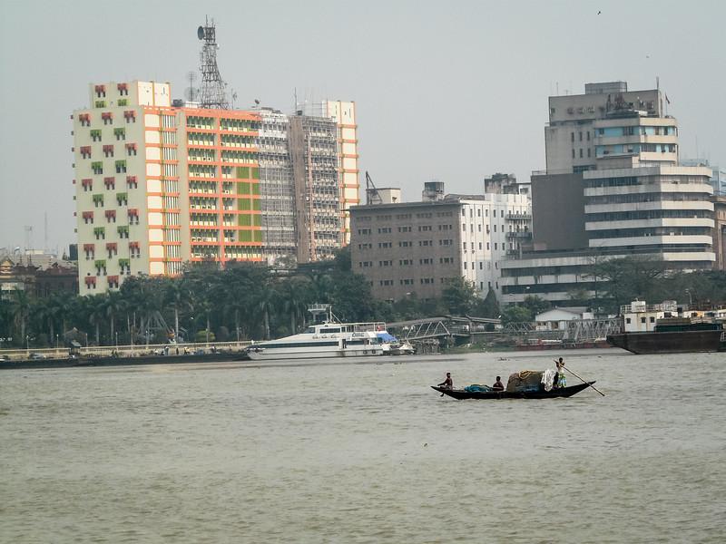 Skiff on the Hooghly, Kolkata