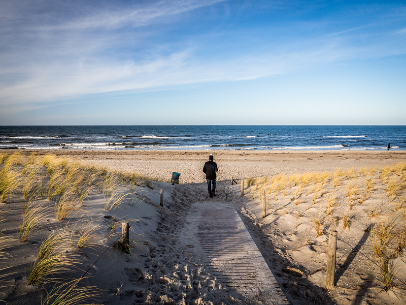 Christmas Day at Rerik, Baltic Sea, Germany