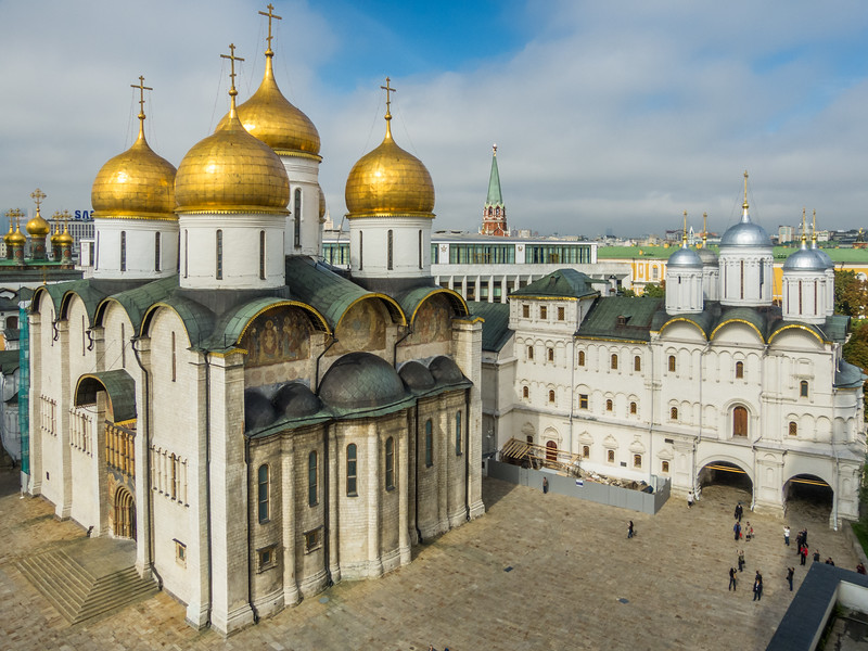Assumption Cathedral and Patriarch's Palace, Kremlin, Moscow