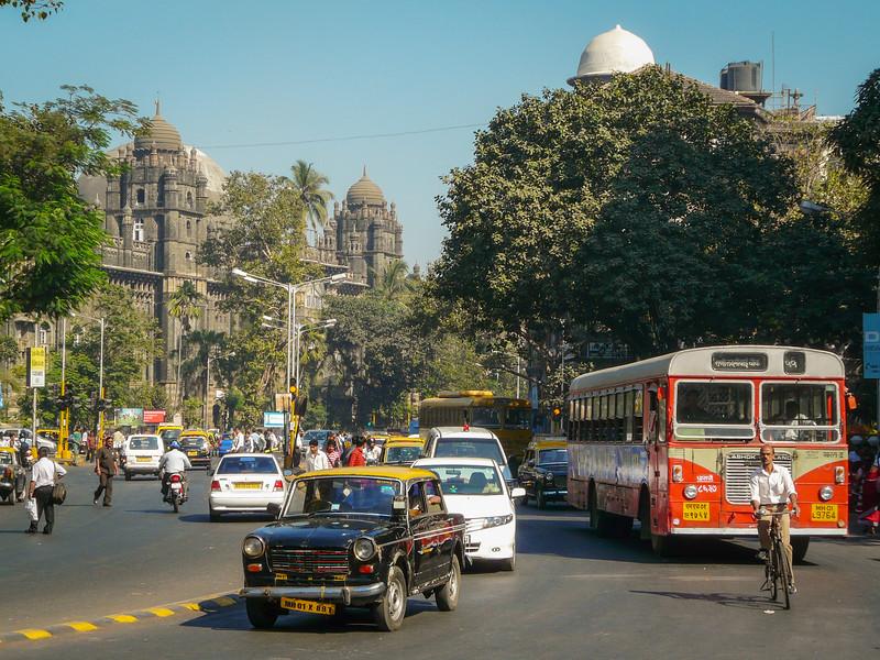 Outside the Main Post Office, Mumbai