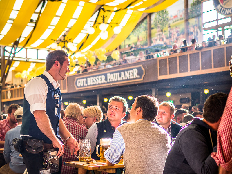 Taking Orders, Oktoberfest, Munich