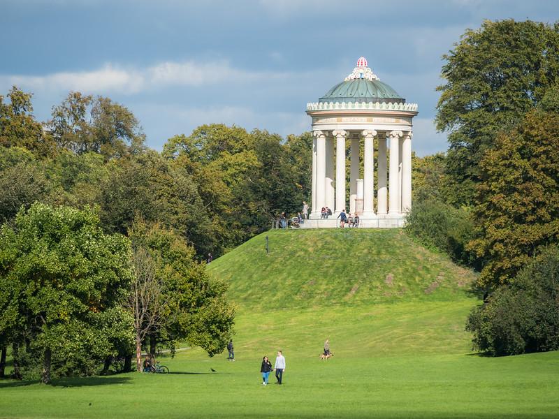September Afternoon in the Englischer Garten, Munich