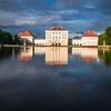 Nymphenburg Schloss in Blue, Munich