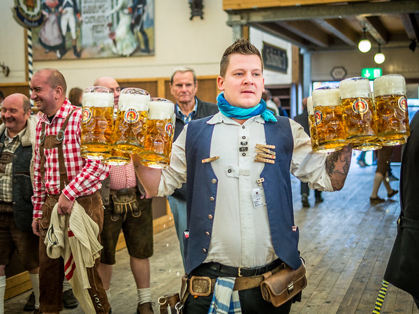 Workout, Oktoberfest, Munich