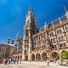 Summer Skies on Marienplatz, Munich