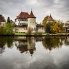 Autumn on Schloss Blutenburg, Munich