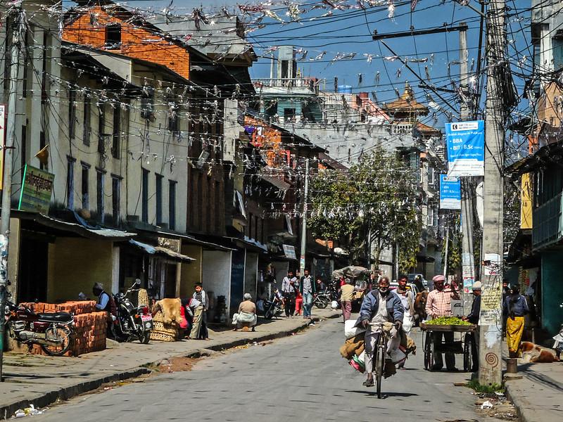 Street in Old Pokhara