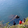 Fishing Boys on Phewa Tal, Pokhara
