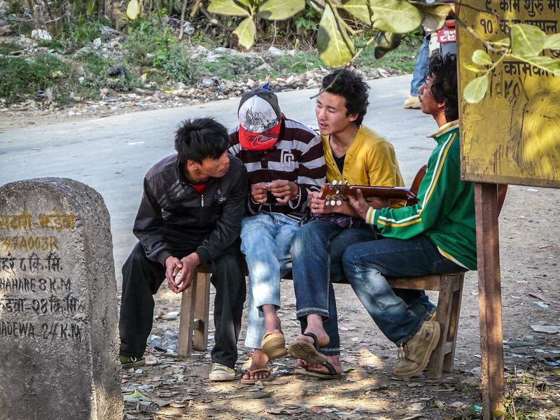 Singing Friends, Nepal