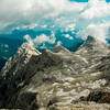 View to the East from Triglav, Slovenia