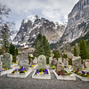 Headstones, Grindelwald, Switzerland