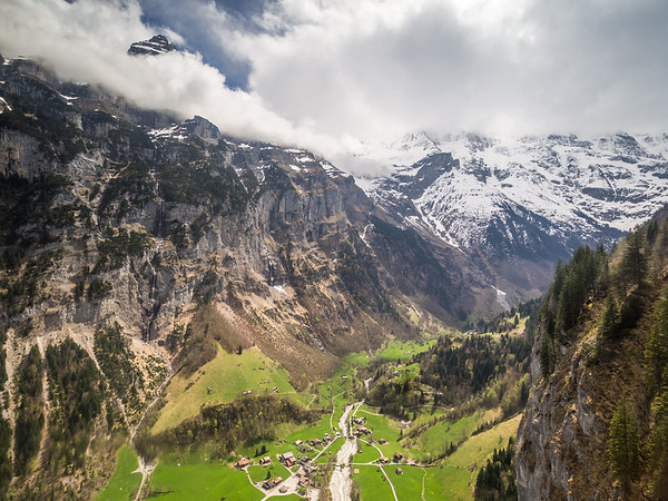 Above the Lauterbrunnen Valley, Switzerland