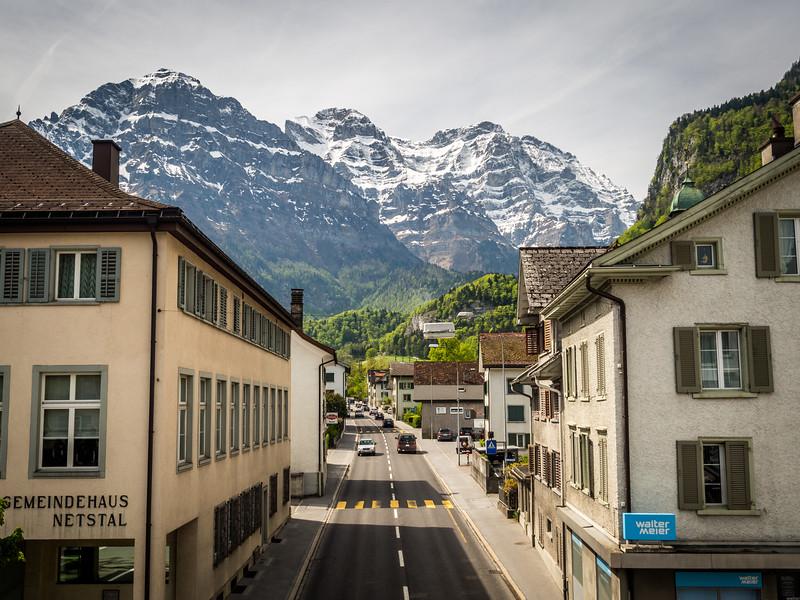 Downtown Netstal, Glarus