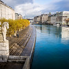 Along the Rhône, Geneva