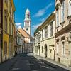 Templom utca, Sopron, Hungary