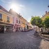 Sunlight on the Square, Szentendre, Hungary