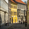 In the Medieval Old Town, Sopron, Hungary