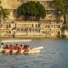 Boaters Against the Ghats, Udaipur